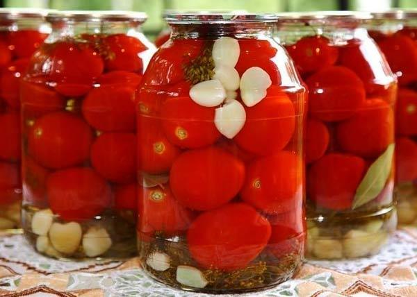 Рецепты консервированных помидоров в автоклаве