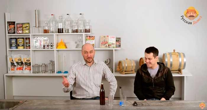 Видео Русская Дымка — Дегустация пива | Интервью с Артемом