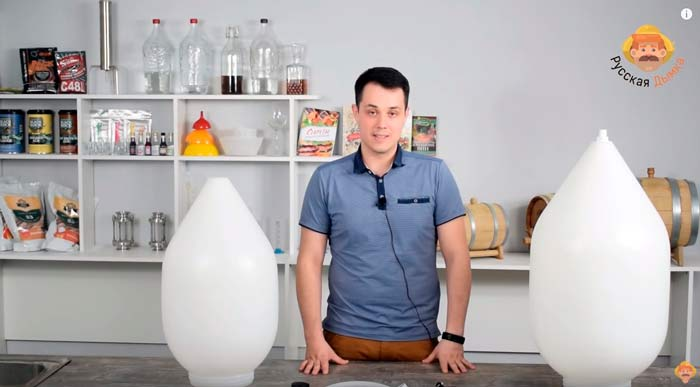 Видео Русская Дымка — Цилиндро-конический танк (ЦКТ): емкость для брожения домашнего пива