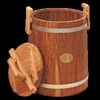 Кадка дубовая для засолки, 10 литров, уценка