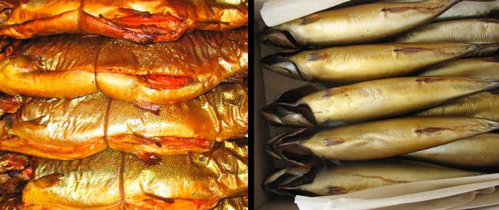 Как готовить рыбу горячего копчения