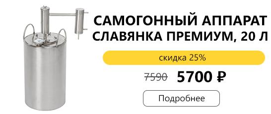 Славянка Премиум 20 литров за 5700 рублей