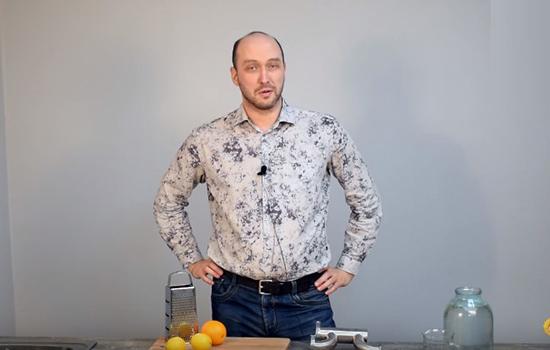 Видео Русская Дымка — Джин домашний с использованием джин-корзины