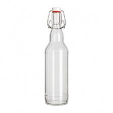Бутылка 0,5 л Бугель (бесцветная)