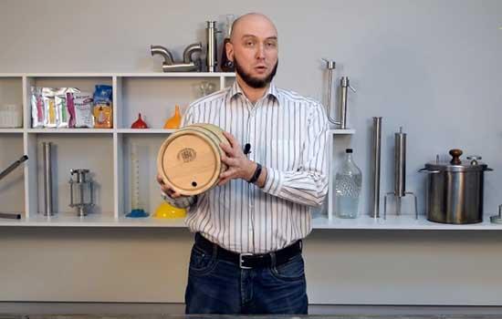 Видео Русская Дымка — Подготовка бочки для самогона