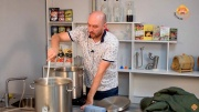 Видео Русская Дымка — Сусловарочный котел Wein: варим солодовое сусло для виски