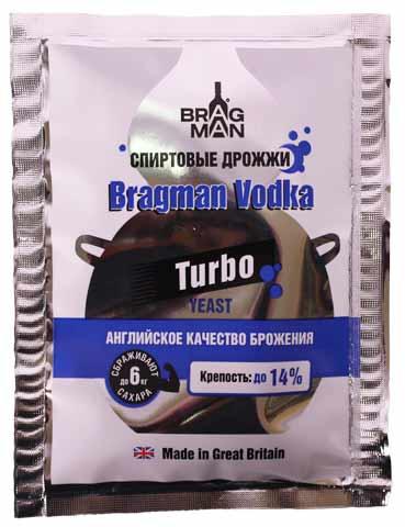 Спиртовые дрожжи Bragman Vodka, 66 г
