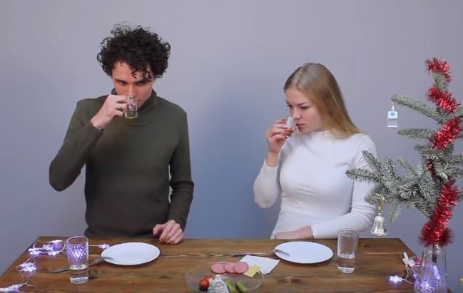 Видео Русская Дымка — Дегустация настоек из самогона