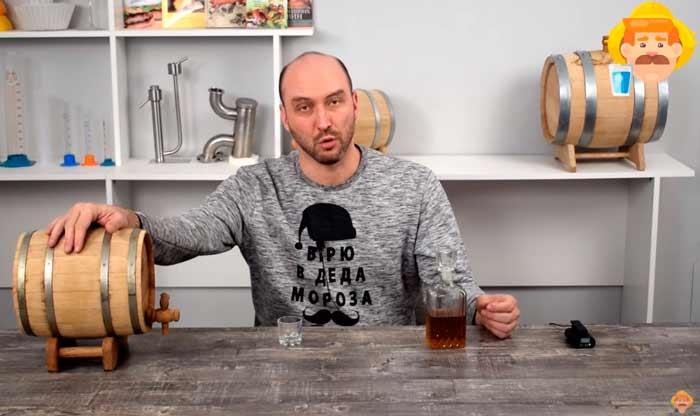 Видео Русская Дымка — Дегустация бурбона из бочки