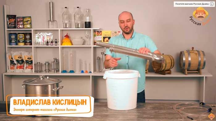 Видео Русская Дымка — Wein 4 Pro: первая перегонка | максимальная скорость!
