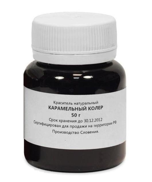 Колер карамельный, 50 г