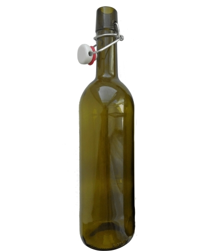 Бутылка с бугельной пробкой винная, 750 мл