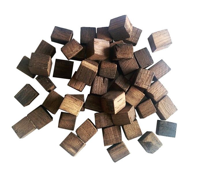 Дубовые кубики, сильный обжиг, 250 г