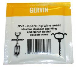 Винные дрожжи Gervin GV3 Sparkling Wine, 5 г