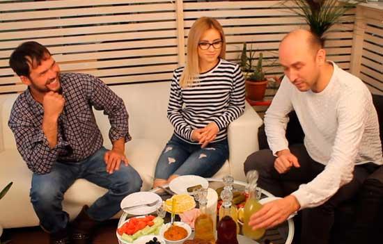 Видео Русская Дымка — Дегустация настоек