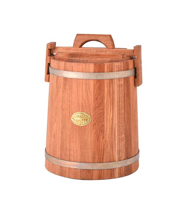 Кадка дубовая для засолки, 10 л
