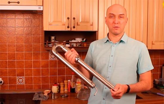 Видео Русская Дымка — Самогонный аппарат Wein Pro - перегон в режиме тонкой настройки