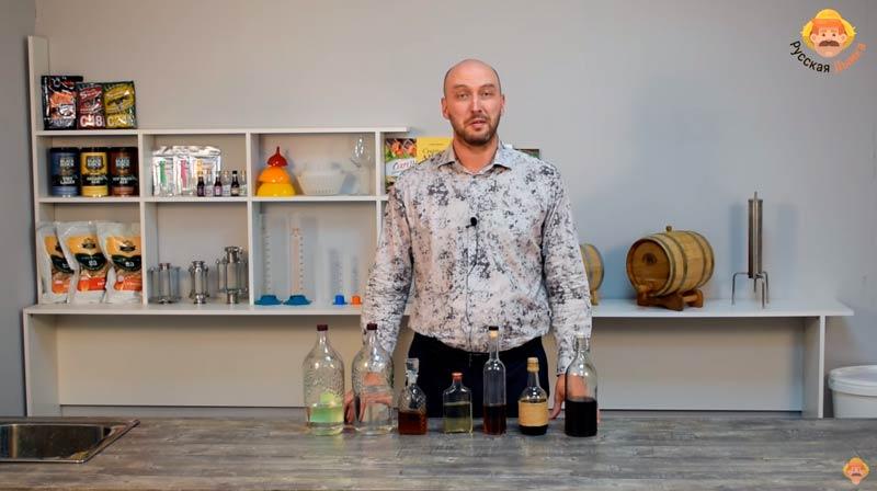 Видео Русская Дымка — Дегустация крепких напитков в студии Русской Дымки