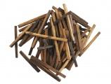 Дубовые палочки из кавказского дуба, сильный обжиг, 250 г