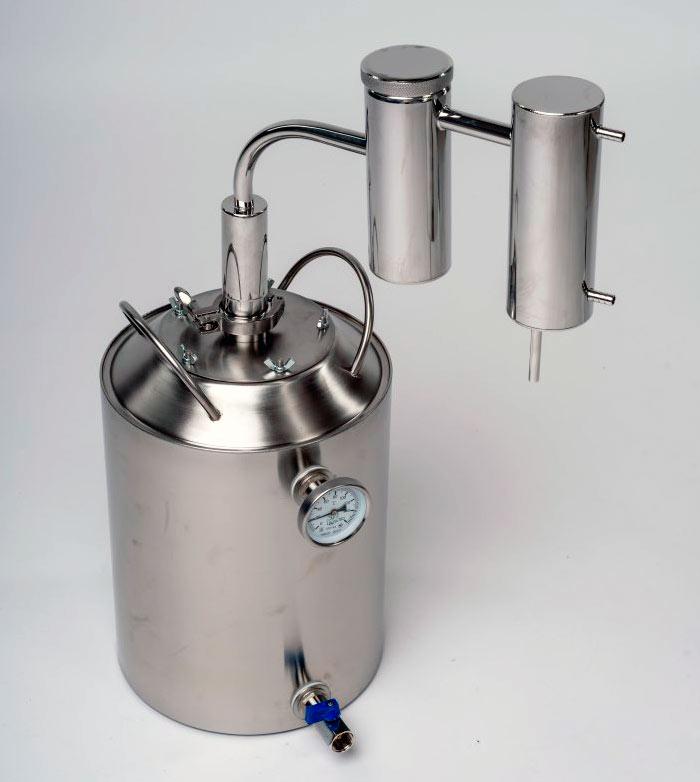 Технические характеристики аппарата Германия на 14 литров
