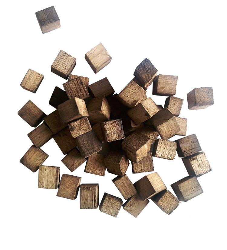 кубики из дуба среднего обжига