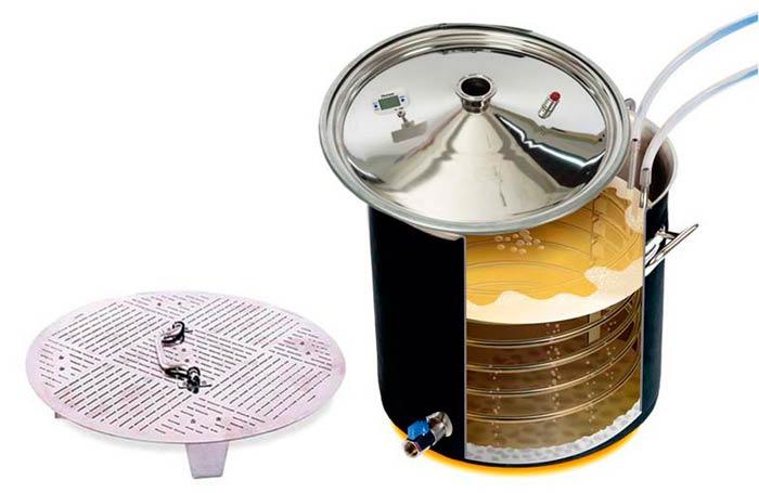 Режим приготовления пива в аппарате Wein 4