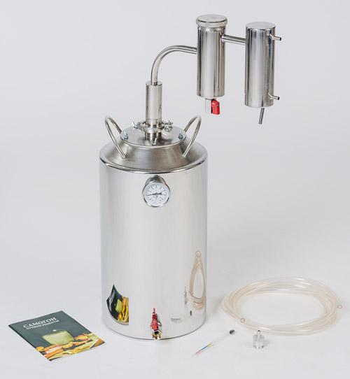 Технические характеристики самогонного аппарата Германия на клампах на 30 литров