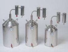 разная база литражей в аппарате Германия на 20 литров