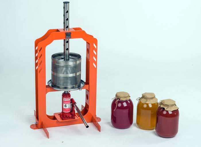 Пресс Hanhi и отжатый сок