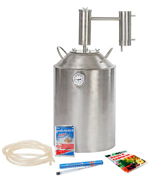 Характеристики самогонного аппарата Дымка Премиум 30 литров