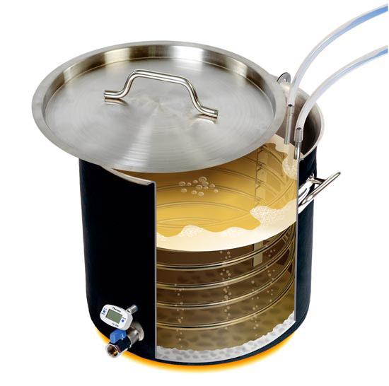 Приготовление сусла в сусловарочном котле Вейн 30 л