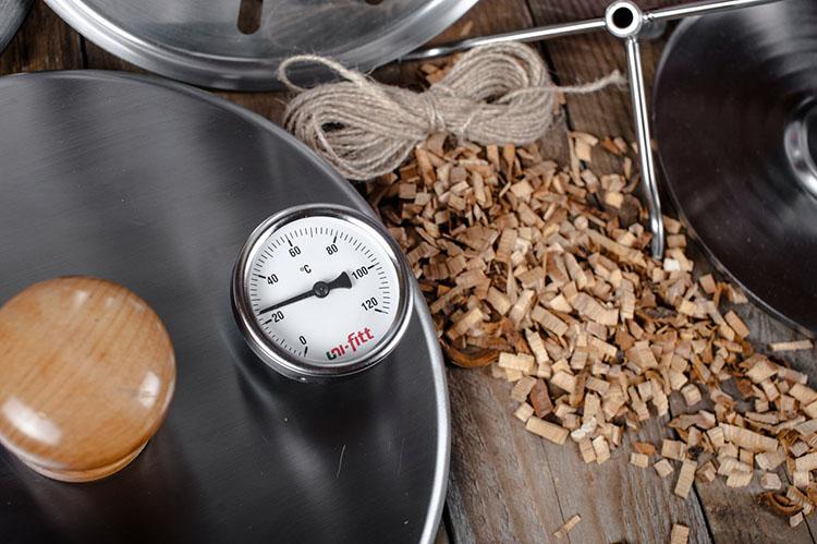 Термометр на коптильне Ханхи на 20 литров