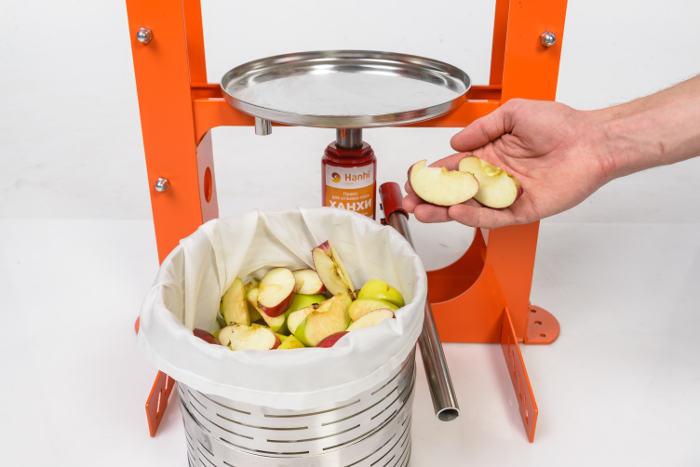 Яблоки в прессе Hanhi