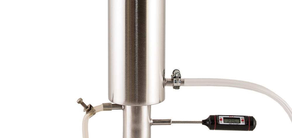 Цифровой термометр в аппарате Hanhi Master