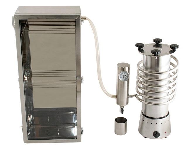 Дымогенератор Hanhi и коптильный шкаф в комплекте