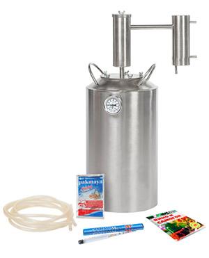 Характеристики самогонного аппарата Дымка Премиум с баком на 20 литров