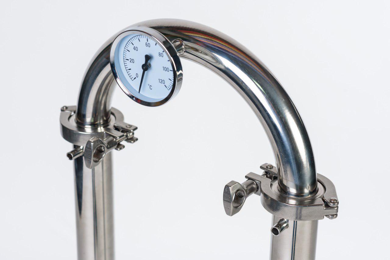 Термометр на колонне Luxstahl 3, 12 л