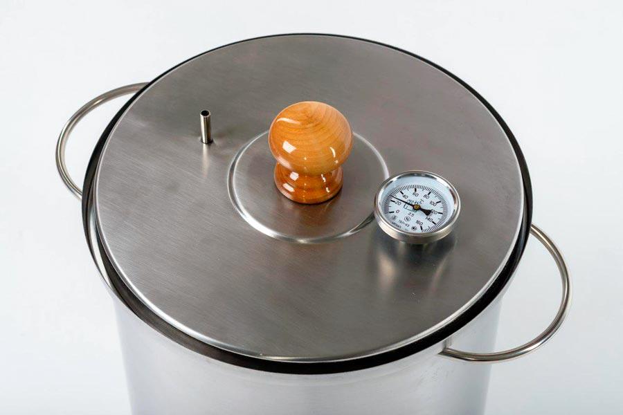 Гидрозатвор коптильни Ханхи на 30 литров