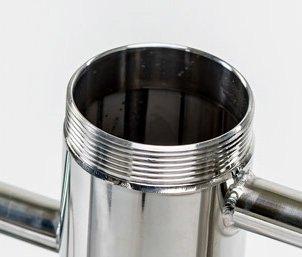 Улучшенная конструкция сухопарника на аппарате Германия на 30 литров