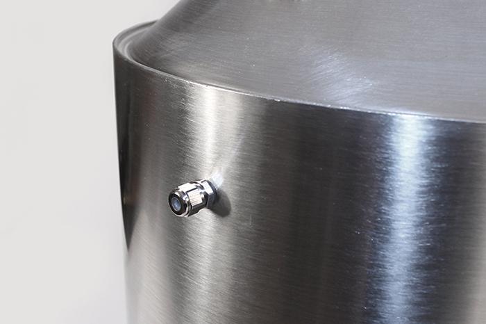 Ниппель на баке самогонного аппарата Родник Про 2