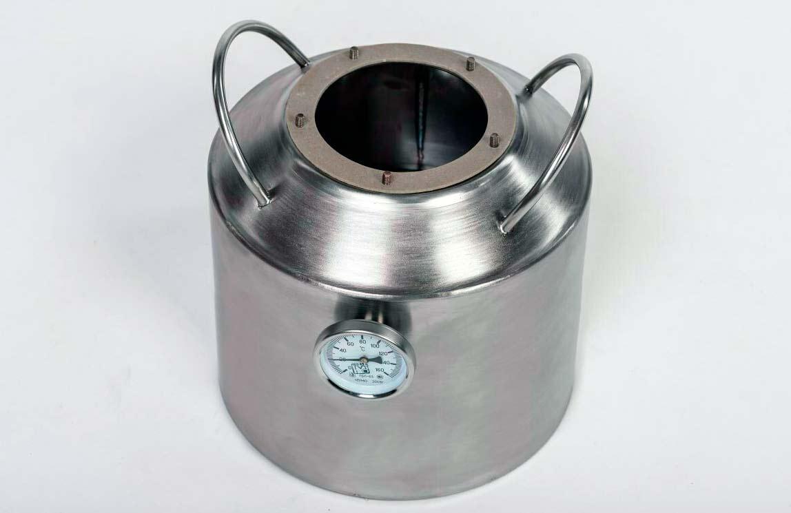Перегонный куб самогонного аппарата Новичок 10 л
