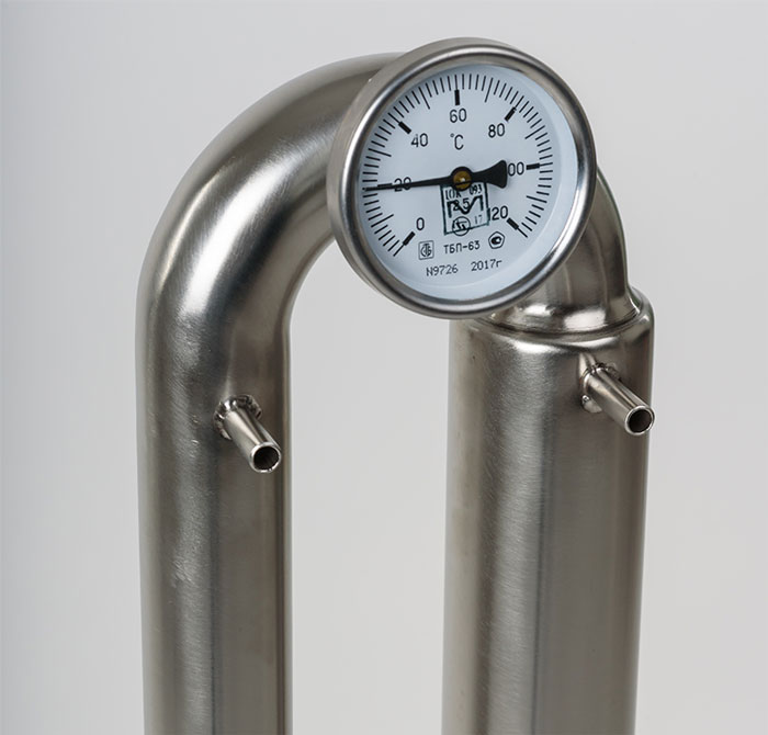 Термометр на колонне самогонного аппарата Wein Pro, 12 литровый