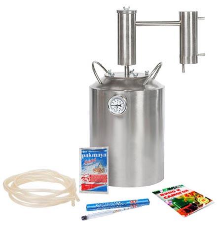 Характеристики самогонного аппарата Дымка Премиум 14 литров