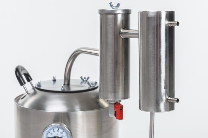 Сухопарник и охладитель аппарата Дымка, 15 литров