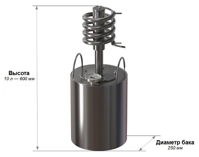 характеристики самогонного аппарата Ханхи Кристал