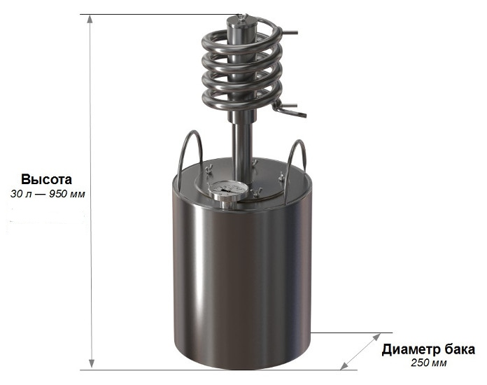 Характеристики самогонного аппарата Ханхи Кристалл