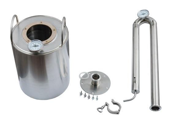 Технические характеристики самогонного аппарата Родник на 14 литров