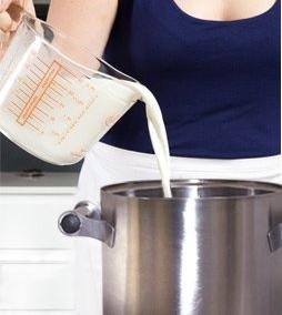 Пастеризуем молоко