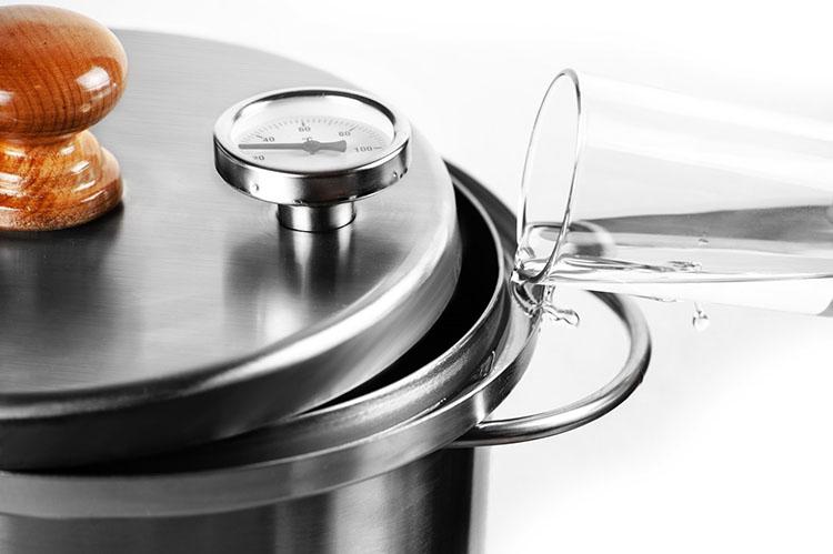 Гидрозатвор коптильни Ханхи на 20 литров